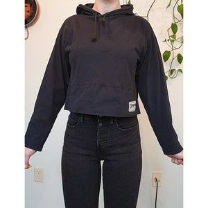Vintage Spalding Activewear Cropped Long Sleeve